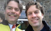 Samen met Jens Langendorff, twee kersverse AlpenKanjers in de Ardennen!